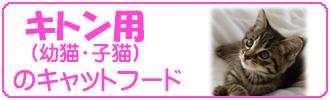 キトン(子猫)用キャットフード