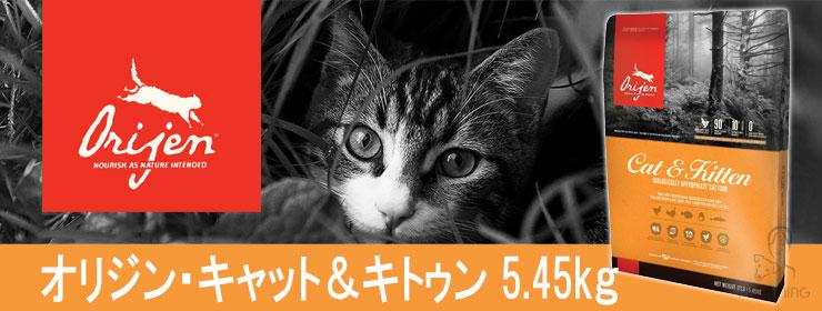 オリジン キャット&キトゥン 5.45kg
