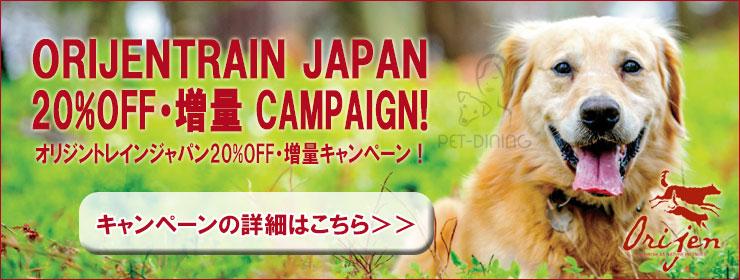 オリジン・トレインジャパンキャンペーン20%OFF